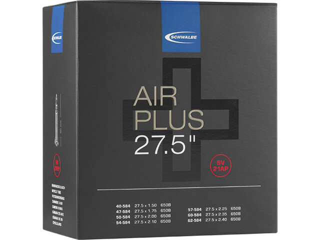 """SCHWALBE Air Plus Chambre À Air 27.5"""""""
